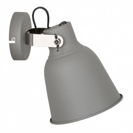 Italux Vidal MB-HN5213L GR+S.NICK nástenné svietidlo E27 40W