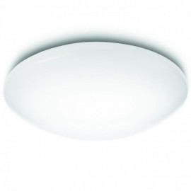 Svietidlo Philips 31802/31/EO Suede ceiling lamp 2700K white 1x24W