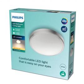 Philips Doris LED CL257 svietidlo do kúpeľne 7W/1500lm 313mm 2700K IP44 nikel