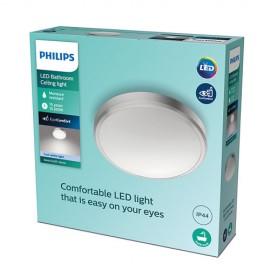 Philips Doris LED CL257 svietidlo do kúpeľne 17W/1700lm 313mm 4000K IP44 nikel