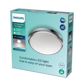 Philips Doris LED CL257 svietidlo do kúpeľne 6W/640lm 220mm 4000K IP44 chróm