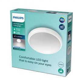 Philips Doris LED CL257  svietidlo do kúpeľne  6W 640lm 220mm 4000K IP44 biela