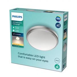 Philips Doris LED CL257 svietidlo do kúpeľne  6W 600lm 220mm 2700K IP44 nikel