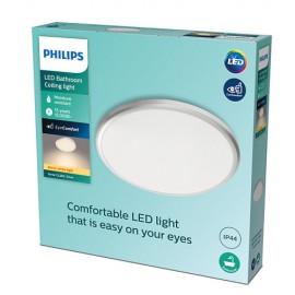Philips Spray LED CL260 svietidlo do kúpeľne 12W 200lm 287mm 2700K IP44 strieborná