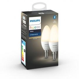 Philips Hue White 5,5W E14 set 2ks, bluetooth
