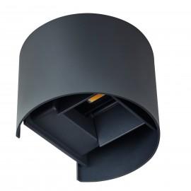 Kanlux REKA LED EL 7W-O-GR Nástenné svietidlo LED