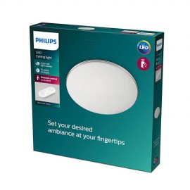 Philips 8718699750619 TOBA CL505 stropné svietidlo LED 23W2800lm 2700-6500K biela, dialkový ovládač