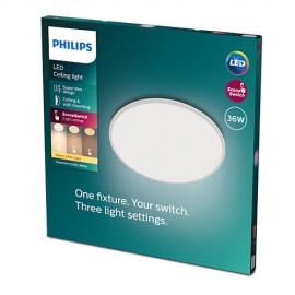 Philips CL550 8719514327146 Superslim stropné svietidlo LED D550mm 36W 3200lm 2700K SceneSwitch