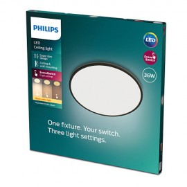 Philips CL550 8719514327160 Superslim stropné svietidlo LED D550mm 36W 3200lm 2700K  SceneSwitch