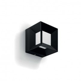 Svietidlo Philips 16480/30/P0 Parterre wall lantern black 1x8W 230V