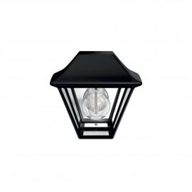 Svietidlo Philips 16494/30/PN Alpenglow wall lantern black 1x42W 230V