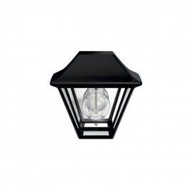 Philips 16494/30/PN Alpenglow wall lantern black 1x42W 230V
