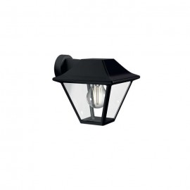 Svietidlo Philips 16495/30/PN Alpenglow down wall lantern black 1x60W
