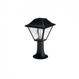 Philips 16496/30/PN Alpenglow pedestal black 1x60W 230V