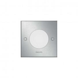 Svietidlo Philips 17356/47/P0 Crust recessed inox 1x3W 230V