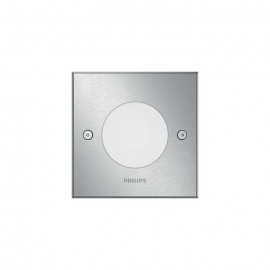 Philips 17356/47/P0 Crust recessed inox 1x3W 230V