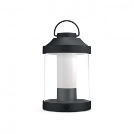 Svietidlo Philips 17360/30/P0 Abelia Portable light black 1x3W SELV