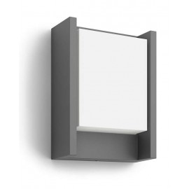 Svietidlo Philips 16460/93/16 Arbour wall lantern anthracite 1x6W 230V