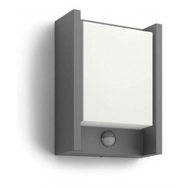 Svietidlo Philips 16461/93/16 Arbour IR wall lantern anthracite 1x6W