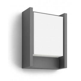 Svietidlo Philips 16460/93/P3 Arbour 4000K wall lantern anthracite 1x6