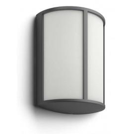 Svietidlo Philips 16464/93/16 Stock wall lantern anthracite 1x6W 230V