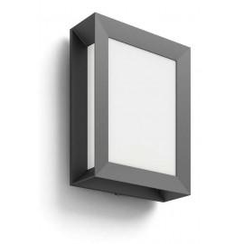 Philips 17293/93/P3 Karp 4000K wall lantern anthracite 1x6W