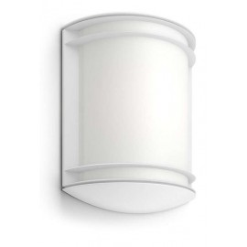 Philips 17320/31/P3 Antelope 4000K wall lantern white 1x6W