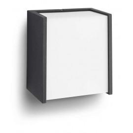 Philips 17302/30/16 Macaw wall lantern black 1x3W SELV