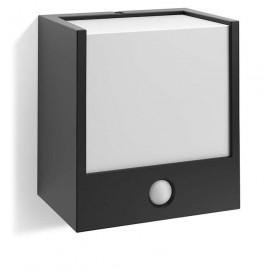 Svietidlo Philips 17317/30/16 Macaw IR wall lantern black 1x3,5W 230V