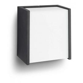 Svietidlo Philips 17302/30/P3 Macaw 4000K wall lantern black 1x3W 230V
