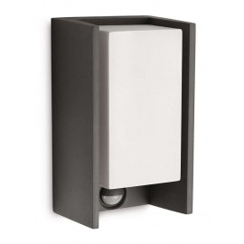 Svietidlo Philips 16352/93/16 Bridge IR wall lantern anthracite 1x15W 230V