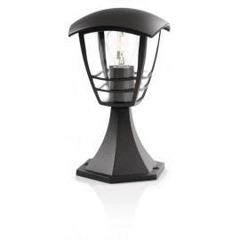 Svietidlo Philips 15382/30/16 Creek pedestal black 1x60W 230V