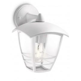 Svietidlo Philips 15381/31/16 Creek wall lantern white 1x60W 230V