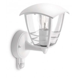 Svietidlo Philips 15388/31/16 Creek wall lantern white 1x60W 230V