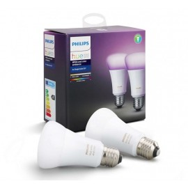 Set Philips Hue White and Color Ambiance 10W E27 A19 2Pack