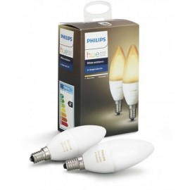 Set Philips Hue White Ambiance 6W E14 B39 2Pack