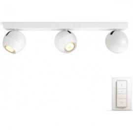 Philips Hue Buckram 3L bodové svietidlo biele