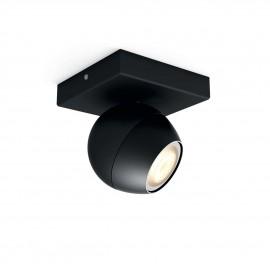 Philips Hue Buckram 1L extension bodové svietidlo čierne