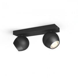 Philips Hue Buckram 2L bodové svietidlo čierne