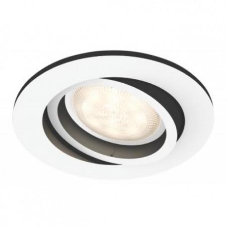 Philips Hue Milliskin zapustené bodové svietidlo biele